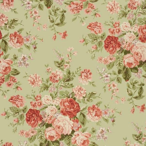 Carrelage imprim jardin anglais n 1 le monde de rose for Carrelage anglais
