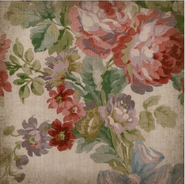 Carrelage imprim jardin anglais n 2 le monde de rose for Carrelage anglais