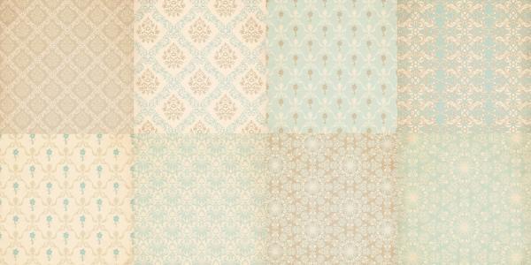 carrelages imprim s s rie papiers peints victoriens le monde de rose. Black Bedroom Furniture Sets. Home Design Ideas