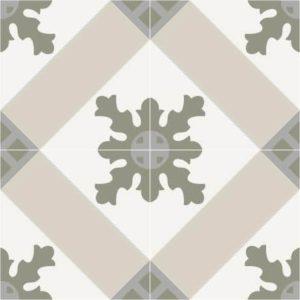 Carrelage imprimé carreaux ciment