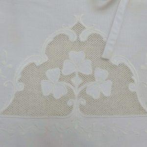 Store lin blanc SENLIS