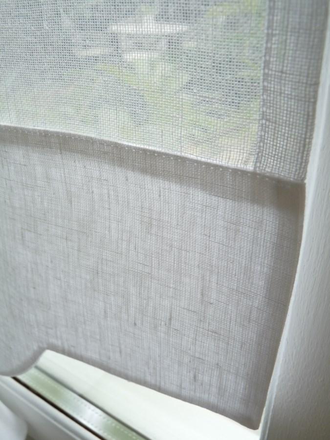 brise bise lin blanc mod le mimosa le monde de rose. Black Bedroom Furniture Sets. Home Design Ideas