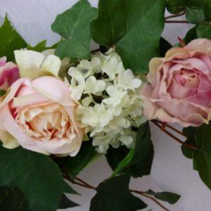Embrasse de rideau Roses et Viorne