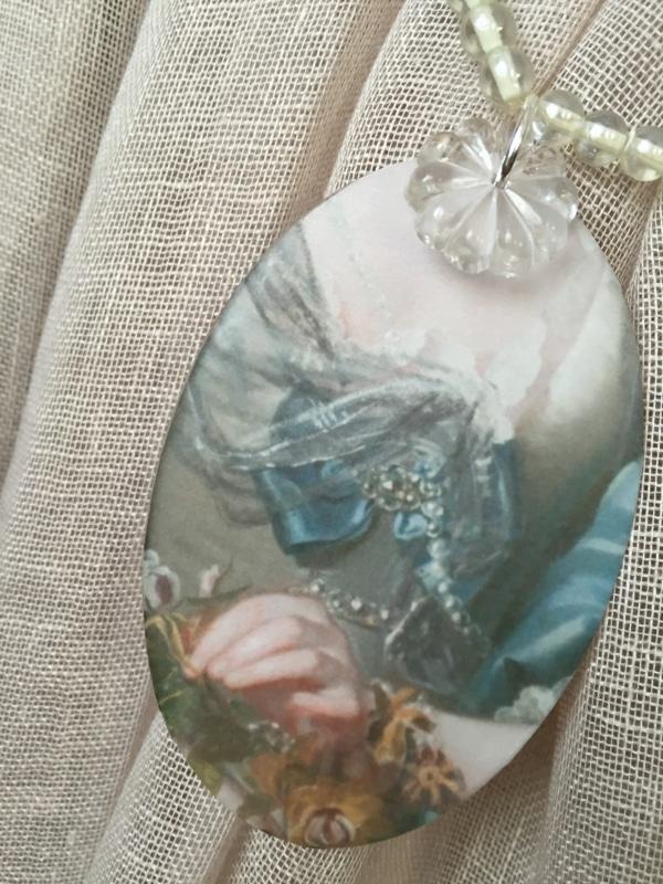 Embrasse de rideau shabby collection marquise mod le d - Embrasse rideau originale ...