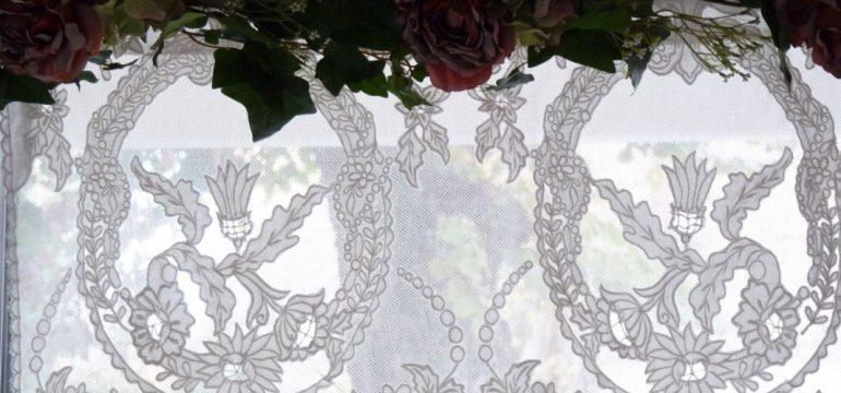 Cantonnières romantiques style shabby chic