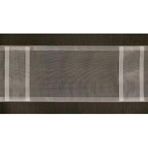 Ruflette pour rideaux transparente