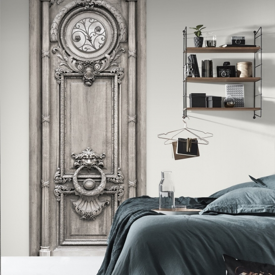 panneau imprim mod le porte boiserie haussmannienne le monde de rose. Black Bedroom Furniture Sets. Home Design Ideas