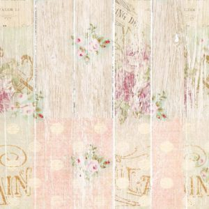 Collection Shabby & Bois fleuri