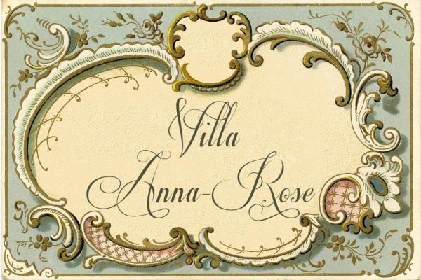 Très Plaque de porte Modèle ANNA-ROSE - Le Monde de Rose ZX87