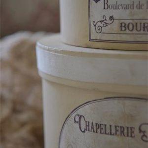 Boîtes à chapeaux CHAPELLERIE PARISIENNE