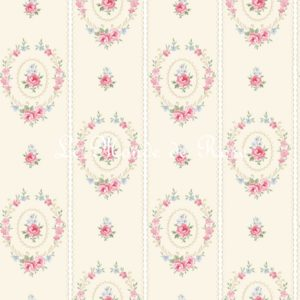 Papiers peints SHABBY Collection COTTAGE ROSE Boutique décoration