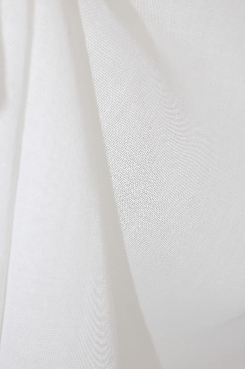 rideau voilage mod le monogramme beige le monde de rose. Black Bedroom Furniture Sets. Home Design Ideas