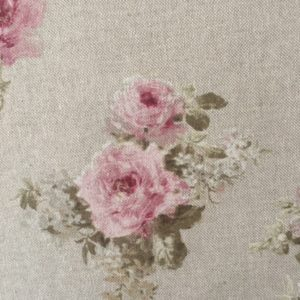 Tissu MODÈLE SHABBY LIN petites fleurs largeur 280 cm