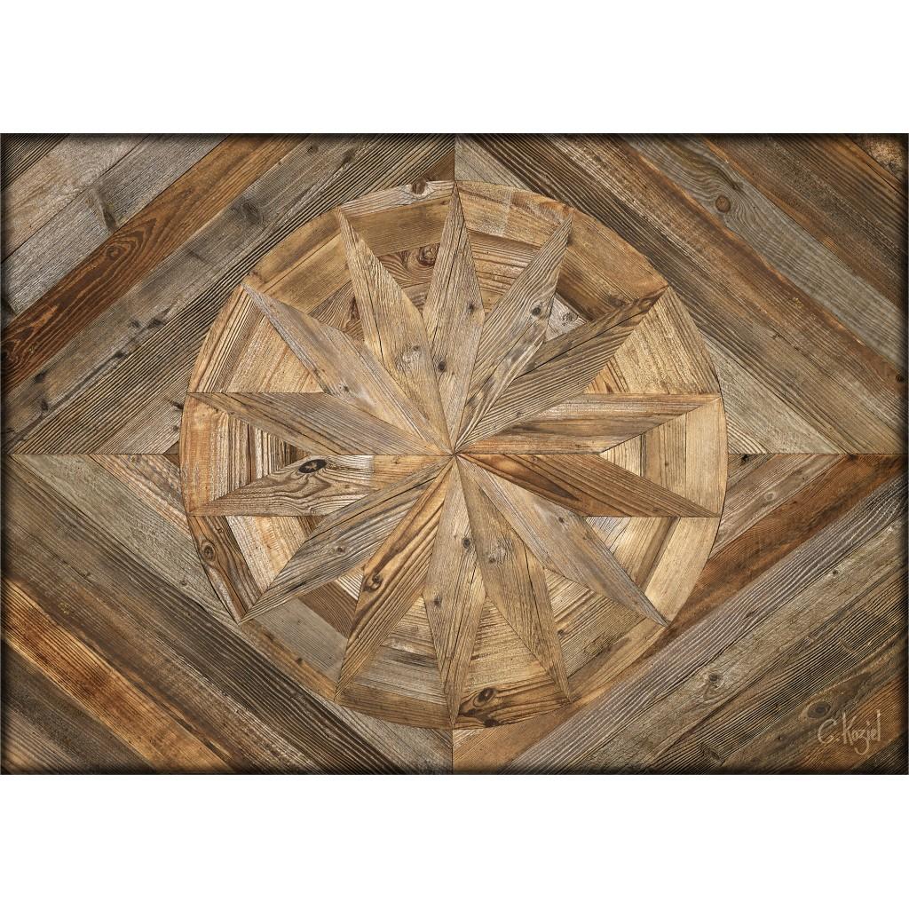 sets de table papier mod le planches bois antique et rosaces le monde de rose. Black Bedroom Furniture Sets. Home Design Ideas