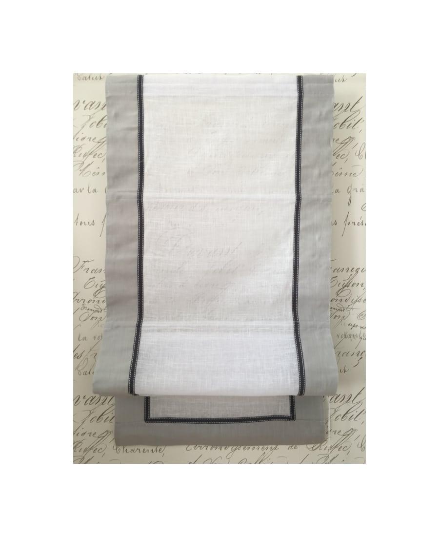 store bateau sur mesure lin mod le industriel gris clair. Black Bedroom Furniture Sets. Home Design Ideas