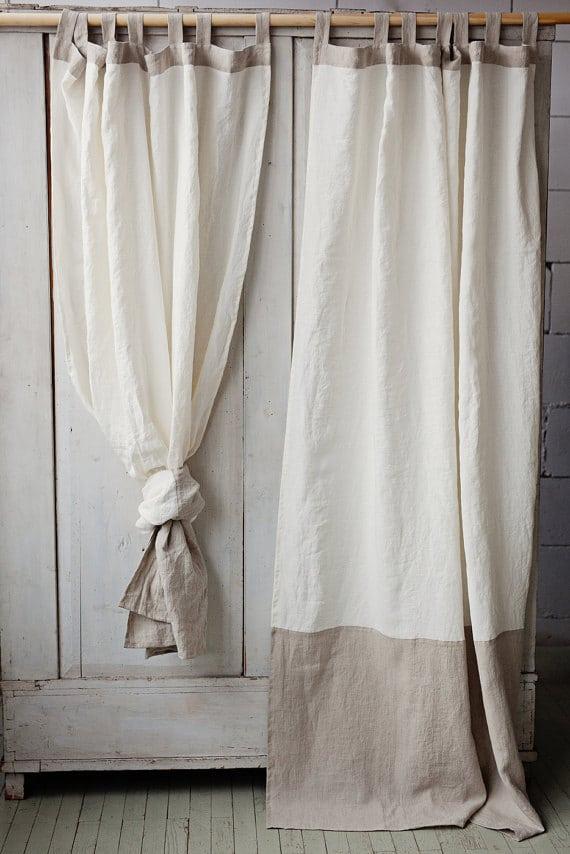 rideaux style campagne chic id es d 39 images la maison. Black Bedroom Furniture Sets. Home Design Ideas