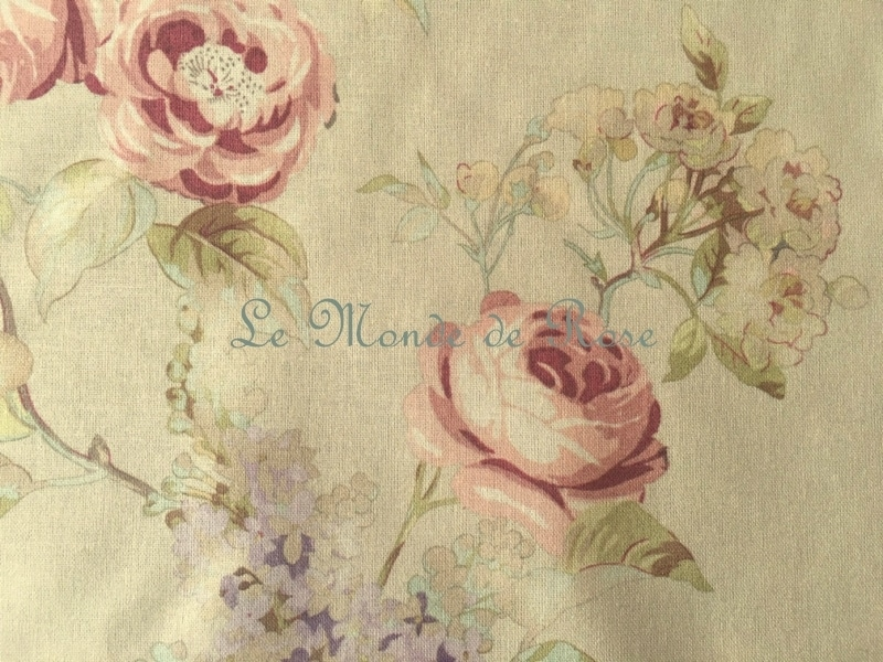 tissu mod le roses anciennes le monde de rose. Black Bedroom Furniture Sets. Home Design Ideas