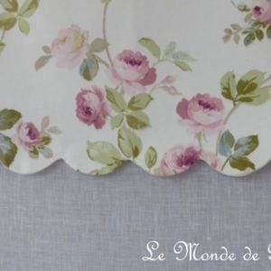 Brise-bise Campagne Lin Aubusson Blanc