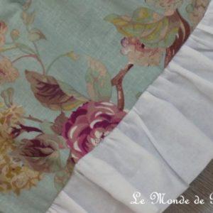Cantonnière ou rideau bonne femme Cottage Blue