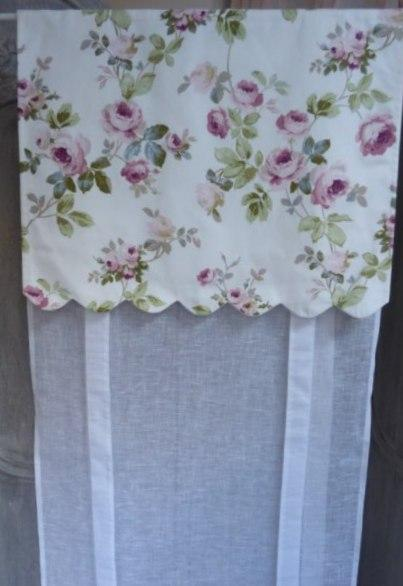 Store Campagne Aubusson Blanc
