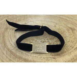 Bracelet JAMAIS L'UN SANS L'AUTRE