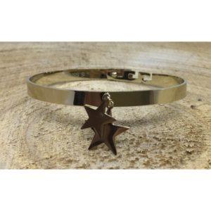Bracelet DOUBLE ÉTOILES doré