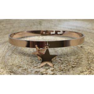 Bracelet DOUBLE ÉTOILES cuivré