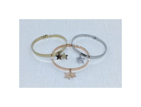 Bracelet DOUBLE ÉTOILES
