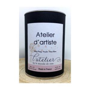 Bougie artisanale ATELIER D'ARTISTE