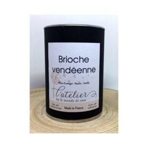 Bougie artisanale BRIOCHE VENDÉENNE