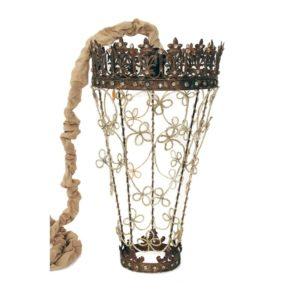 lanterne fil de fleurs