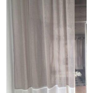 Rideau voilage Modèle BEAUGENCY 150 x 260 cm