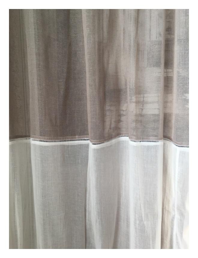 rideau voilage mod le beaugency 150 x 260 cm le monde de rose. Black Bedroom Furniture Sets. Home Design Ideas