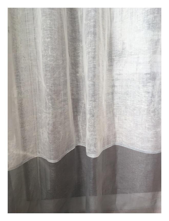 rideau lin mod le nice dentelle 135 x 260 cm le monde de rose. Black Bedroom Furniture Sets. Home Design Ideas