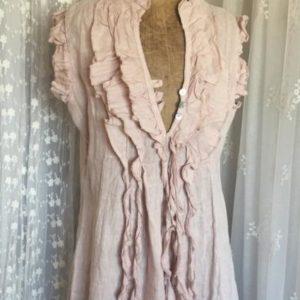 Robe Frou-Frou en lin ROSE