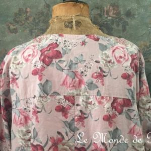 Robe coton SHABBY CHIC ROSE