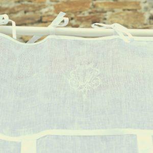 Store lin blanc MARSEILLE