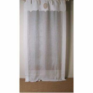 rideaux shabby romantique le monde de rose. Black Bedroom Furniture Sets. Home Design Ideas