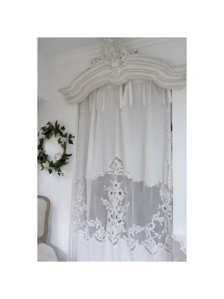 rideau coquecigrues mod le tub reuse le monde de rose. Black Bedroom Furniture Sets. Home Design Ideas