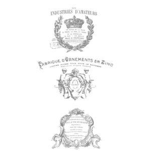 Transfert IOD Modèle FRENCH POTS III - Décalcomanie