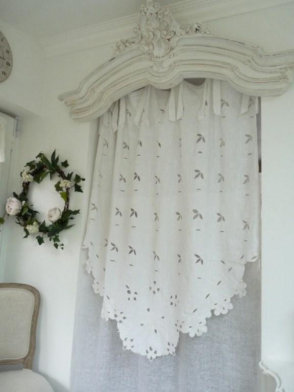 Rideau coquecigrues mod le brugges le monde de rose for Modele rideau
