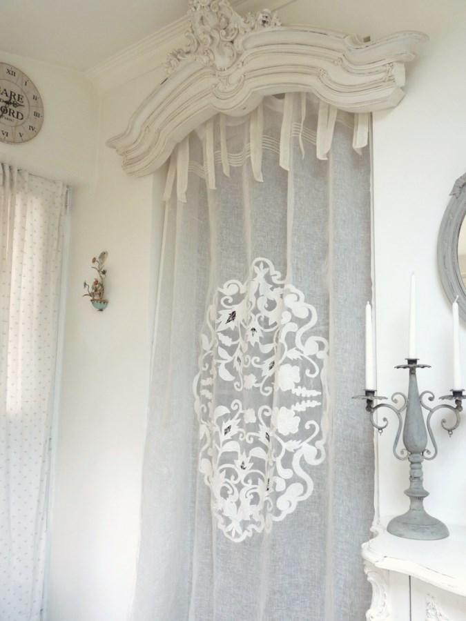 rideau coquecigrues mod le farandole le monde de rose. Black Bedroom Furniture Sets. Home Design Ideas