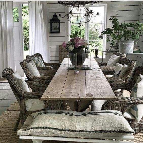Country Homes And Gardens Magazine: Deco Campagne Chic