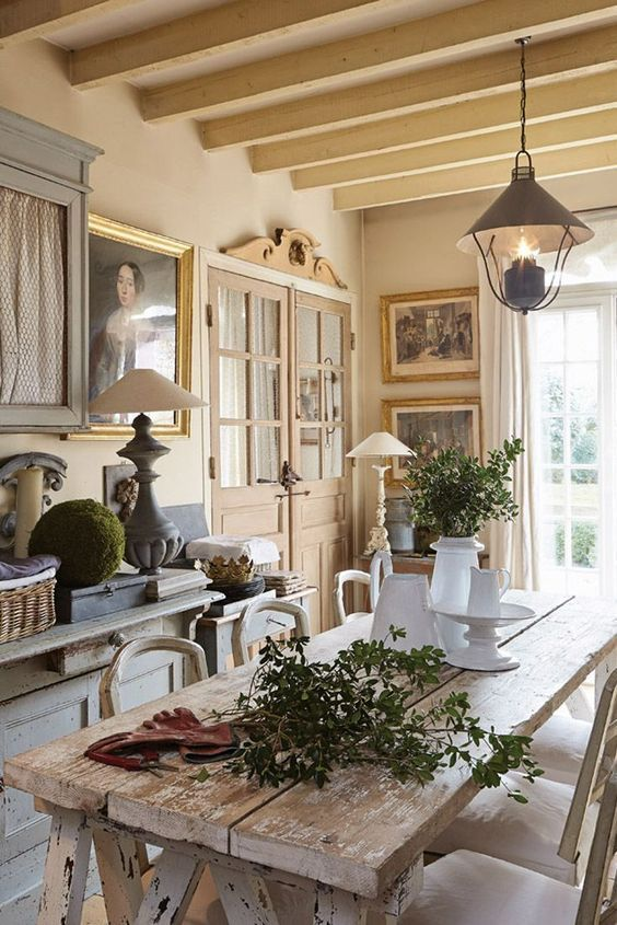 DECORATION CAMPAGNE CHIC - Le Monde de Rose
