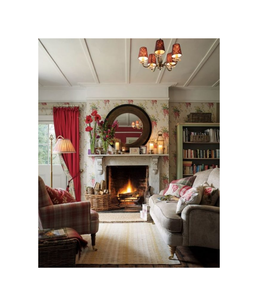 Awesome d coration cottage anglais photos for Cottage anglais deco