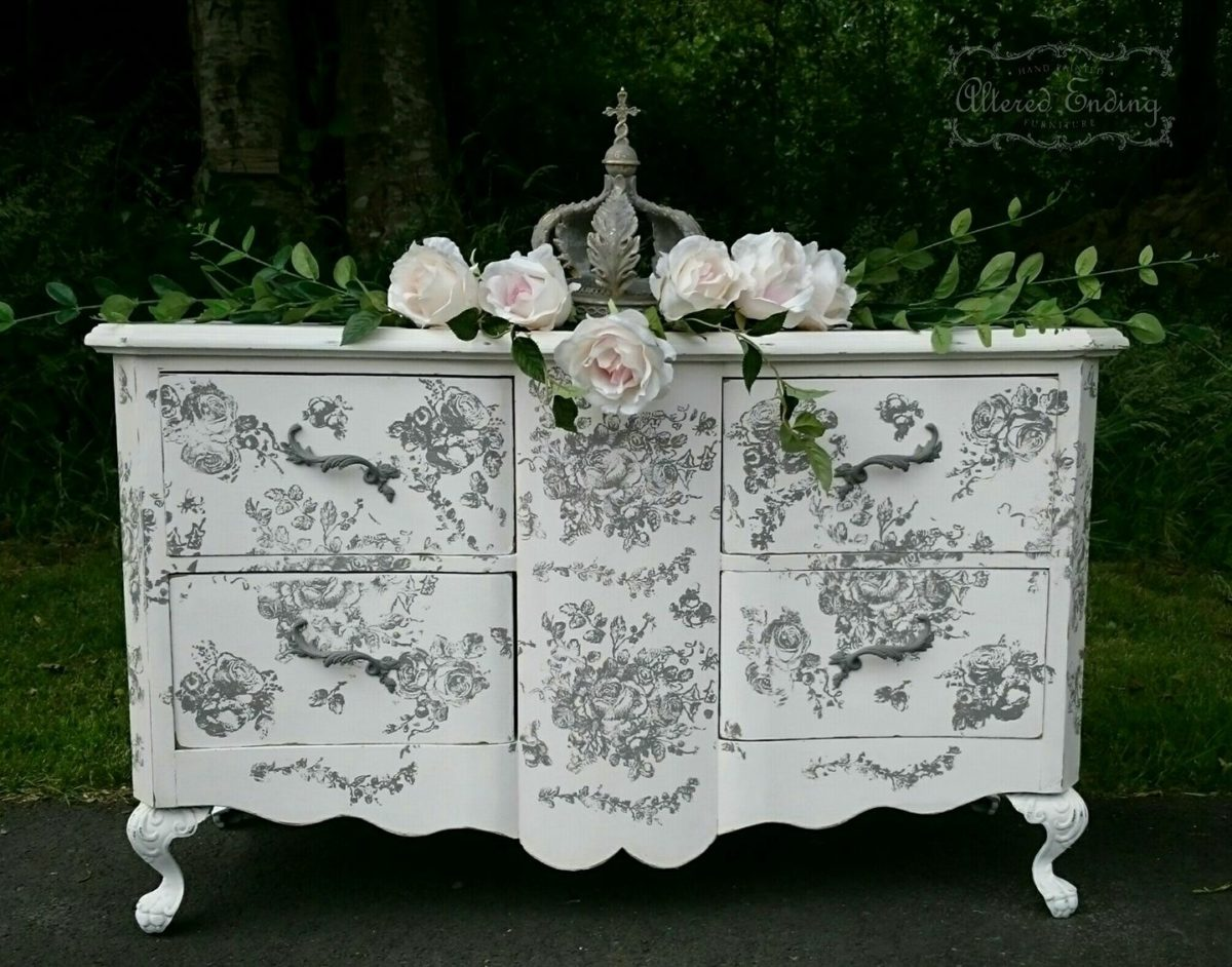 tampon iod mod le floral le monde de rose. Black Bedroom Furniture Sets. Home Design Ideas