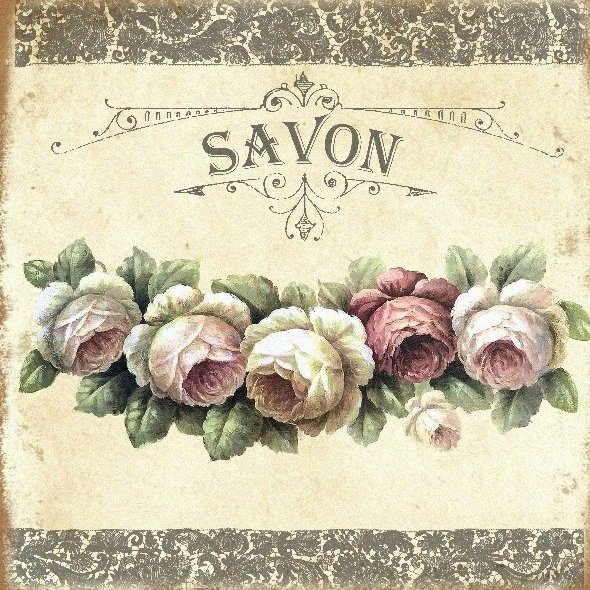Carrelage imprimé Collection Savon n°4