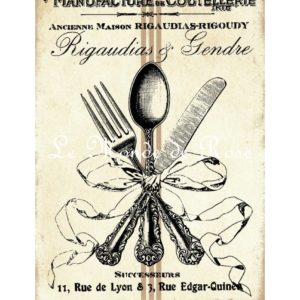 Carrelage imprimé Collection Cuisine Ancienne n°5