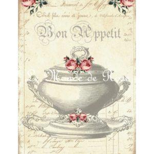 Carrelage imprimé Collection Cuisine Ancienne n°8