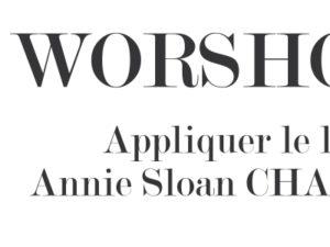 Appliquer le lacquer Annie Sloan CHALK PAINT